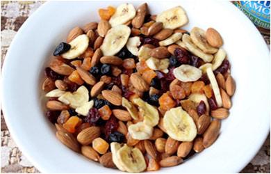 almonds, walnuts