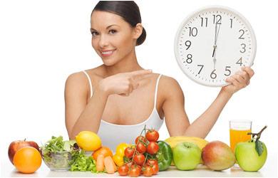eat at a regular interval